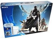 Sony Destiny PlayStation 4 Bundle (Glacier White) - With Game Pad - Wireless - Glacier White - ATI Radeon - Blu-ray Disc Player - 500 GB HDD - Gigabit Ethernet - Bluetooth - Wireless LAN - HDMI - ...