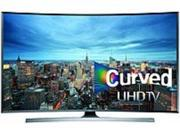 Samsung UN55JU7500 55-inch Curved 3D LED Smart 4K Ultra HDTV - 3840 x 2160 - Clear Motion Rate 240 - Wi-Fi, Ethernet - HDMI, Component, Composite