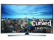 Samsung UN65JU7500 65.0-inch Curved LED Smart TV - 3840 x 2160 Pixels - 240 Motion Rate - WiFi, Ethernet - HDMI, USB - Silver