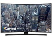 "Samsung 65"" Class (64.5"" Diag.) LED Curved 2160p Smart 4K Ultra HD TV Black UN65JU6700FXZA"