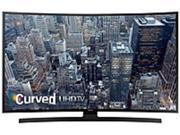 "Samsung 65"" Class (64.5"" Diag.) LED Curved 2160p Smart 4K Ultra HD TV Black UN65JU6700FXZA"