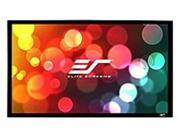"""Elite Screens ER166WH1W-A1080P2 Sable235 Wall Mount Fixed Frame Projection Screen (166"""" 2.35:1 Aspect Ratio) (Acoustically Transparent) - 65"""" x 152.8"""" - AcousticPro1080P2"""