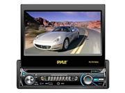 """Pyle PLTS76DU Car DVD Player - 7"""" Touchscreen LCD - 320 W RMS - Single DIN - 4 Channels - DVD Video, Video CD, MPEG-4 - AM, FM - SD, MultiMediaCard (MMC) - USB - Auxiliary Input - In-dash"""