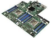 Intel S2600GL4 1U Rack-mountable Server Motherboard - Intel C602-A Chipset - 2 x LGA2011 Socket - 500 GB DDR3 RAM