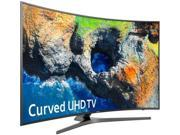 "Samsung 65"" Class (64.5"" Diag.) LED Curved 2160p Smart 4K Ultra HD TV with High Dynamic Range Dark titan UN65MU7500FXZA"