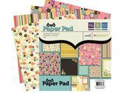 "We-R-Memory Keepers Love to Craft Pad (6""x6"")"