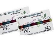 Craftwell eCraft $50.00 Gift Certifcate