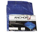 Anchor Brand ANR1016 Multiple Use Tarpaulin Polyethylene 10ft x 16ft Blue
