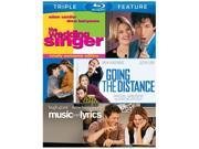The Wedding Singer/Going the Distance/Music and Lyrics [3 Discs] [Blu-Ray] 9SIAA763US7001