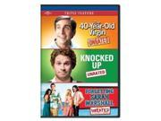 The 40-Year-Old Virgin/Knocked Up/Forgetting Sarah Marshall [3 Discs]