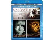 Mortuary/Salvage/Memory/Bonus DVD Content Included