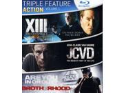 Action Triple Feature, Vol. 1 [Blu-Ray] 9SIA17P4RS4240