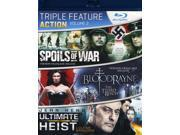 Action Triple Feature, Vol. 2 [Blu-Ray] 9SIA17P4RS4111
