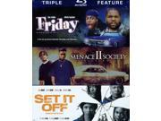 Friday/Menace 2 Society/Set It Off 9SIA17P3ES9193