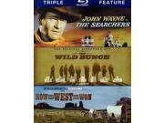 The Searchers/the Wild Bunch/How the West Was Won [3 Discs] [Blu-Ray] 9SIAA763US7019