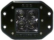 Rigid Industries 21121 Dually - Flush Mount - Spot - Single