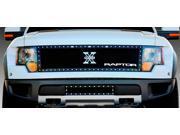 """T-REX 2009-2013 Ford Raptor F-150 SVT X-Metal Grille w/ 15"""" Anodized Aluminum """"RAPTOR"""" emblem - Polished POLISHED 6715660"""