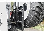 Fab Fours JP-Y1261T-1 Off The Door Tire Carrier Fits 07-15 Wrangler (JK)