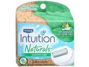 Schick Intuition Naturals Sensitive Care Razor Refill
