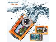 SVP UnderWater 18MP Max. Digital Camera + Video w/ Dual LCDs Screen - BRAND NEW