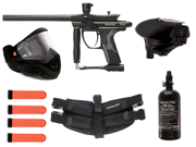 Kingman Spyder Fenix Paintball Pro Player Pack - Dust Diamond Black