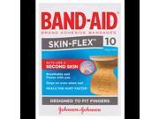 Band-Aid Skin-Flex Finger 10 Sterile Strips