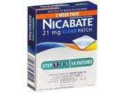 Nicabate Cq Clear 21Mg Patches 2 Weeks 14 Patches