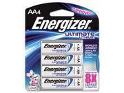 e2 Lithium Batteries, AA, 4 Batteries/Pack