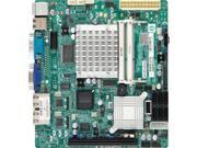 SUPERMICRO X7SPA-HF-D525-B Supermicro X7SPA-HF-D525-B Intel Atom D525 Intel ICH9R DDR3 V and 2GbE Mini ITX Server Motherboard Bulk