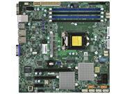 SUPERMICRO X11SSL-CF-O Supermicro X11SSL-CF-O LGA1151 Intel C232 DDR4 SATA3 and SAS3 and USB3.0 V and 2GbE MicroATX Motherboard