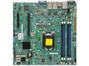 SUPERMICRO X10SLM+-LN4F-B Supermicro X10SLM-LN4F-B LGA1150 Intel C224 PCH DDR3 SATA3 and USB3.0 V and 4GbE MicroATX Server Motherboard