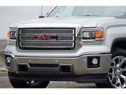 CARRIAGE WORKS CWG47242 14-15 SIERRA 1500(NOT Z71 ALL TERRAIN) POLISHED 4PC BOLT-OVER BILLET GRILLE