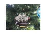 HANDCRAFTED MODEL SHIPS CUTTY SARK 4 x Wooden Cutty Sark Tall Model Clipper Ship Christmas Ornament 4