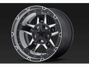 Wheel Pros A782789086500 RS3 18X9 5X139.70 BLACK