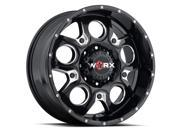 ULTRA WHEEL U128092987BM1 809 20X9 8-170 BLK