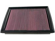 K&N KNN33-2363 07-11 DODGE NITRO; 08-12 LIBERTY AIR FILTER 9SIV04Z5629706