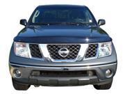 LUND L3218472 Bugshield: 2005 Nissan Pathfinder 2005 Nissan Frontier; Lund Interceptor; smoke