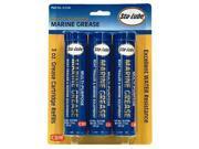 Grse Brg 3Oz Crtg Semi-Sol Blu CRC INDUSTRIES Grease SL3184 Blue 072213318418 9SIA25V4V14802