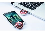 Marvel Captain America The Winter Soldier - Official Shield OTG + USB3.0 Flash Drive