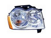 TYC 20-6589-00-1 Passenger Side Replacement Headlight For Jeep Grand Cherokee