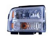 Eagle Eyes FR430-B001R Passenger Replacement Headlight For Ford F-350 Super Duty