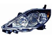 Replacement Depo Driver Side Headlight For 06-07 Mazda 5 CC43510L0C MA2518137C