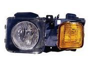 Replacement Depo 336-1116L-AS Driver Side Headlight For 06-10 Hummer H3 15818967