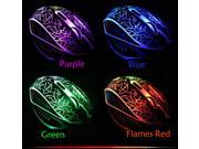 8D 2400DPI Demon Prince X3 6 Buttons Gaming Mouse for MMO WOW RAZER FPS LOL DOTA