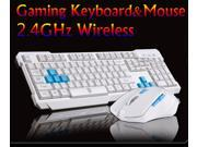 Delog V60 Wireless Multimedia Gaming Keyboard + 2.4GHz 6 Buttons Mouse Set