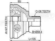 2003 Audi A3 - CV Joint