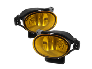 Acura TL 07-08 OEM Fog Lights (no switch) - Yellow