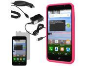 Silicone Gel Cover Case Huawei Pronto LTE SnapTo H891L G620 LCD Car Home Charger