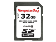 Komputerbay 32GB SDHC Secure Digital High Capacity Flash Memory Card with SD USB Reader - Ultra High Speed Class 6