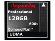 Komputerbay 128GB Professional Compact Flash Card CF 600X 90MB/s Extreme Speed UDMA 6 RAW 128 GB